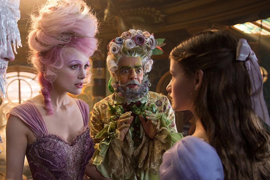 Keira Knightley as the Sugar Plum Fairy in