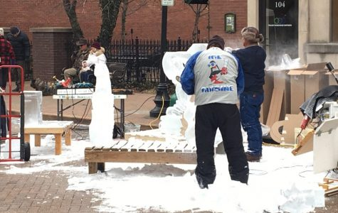 Fete de Glace Festival Hosted on Downtown Main Street