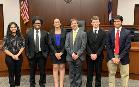 Mock Trial Wins First Match of the Year