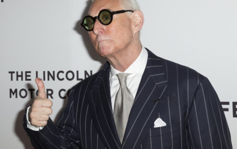 New York, NY USA - April 23, 2017: Roger Stone attends premiere Get Me Roger Stone at SVA during 2017 Tribeca Film Festival - Image
