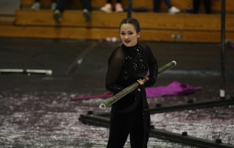 Winter Guard Places Fifth in WGI Regionals