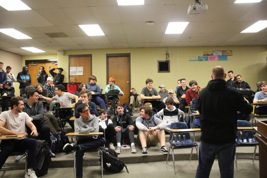 Coach Bevill calls Esports team to meet to discuss future plans about what the team will be doing. This is a new sport that involves video games that will be played competitively featuring League of Legends and Overwatch. The team meets weekly and talks about what they will be playing.