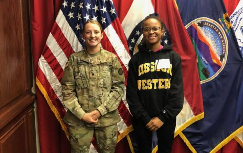 Former Student Marissa Hunt Joins the National Guard