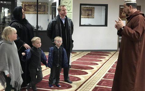 Principal Nathan Hostetler Visits a Mosque