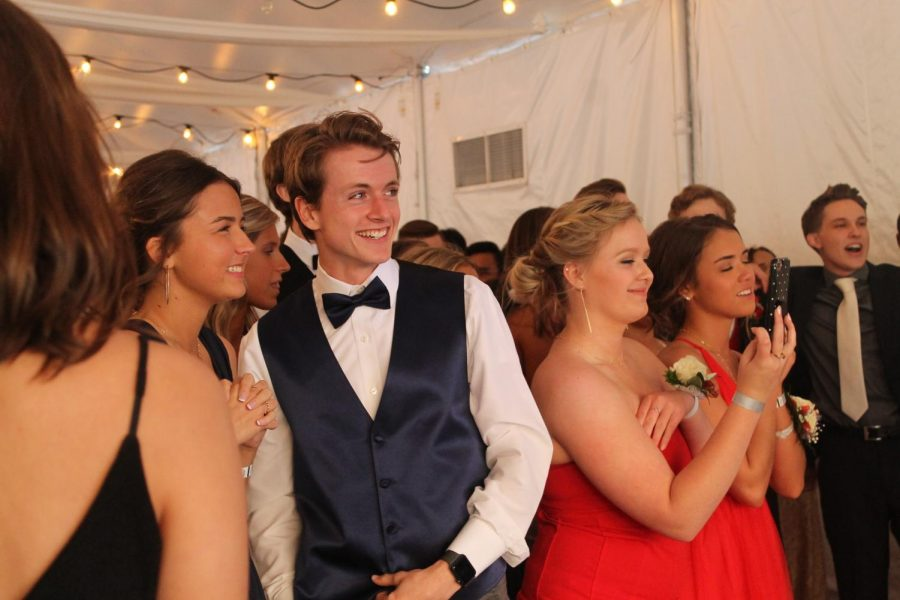 Students attend the 2018 Prom on Friday, May 4. Juniors and seniors participated in the Prom Fashion Show for a fun night and to help raise money for the dance. The fashion show is put on annually by the Junior Delegates