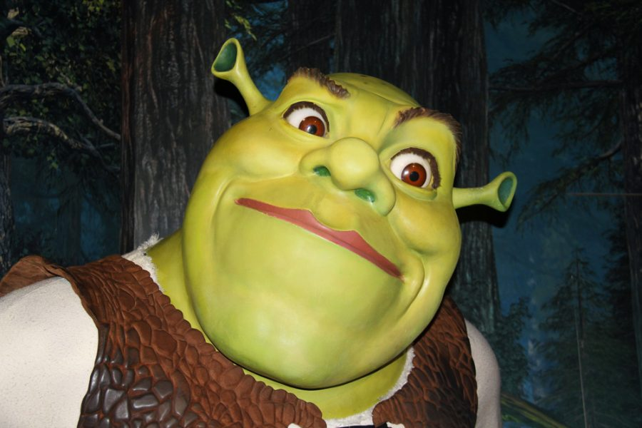 London, - United Kingdom, 08, July 2014. Madame Tussauds in London. Waxwork statue of Shrek. Created by Madam Tussauds in 1884, Madam Tussauds is a waxwork museum and tourist attraction - Image Credit: Editorial credit: Glynsimages2013 / Shutterstock.com
