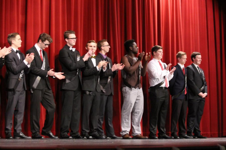 On+April+21%2C+2017+StuCo+held+their+annual+Mr.+FHN+in+the+auditorium.+The+contestants+were+Sean+Rhomberg%2C+Zac+Cary%2C+Kyle+Rolfing%2C+Chris+St.+Aubin%2C+Michael+Shine%2C+Christian+Witte%2C+Ethan+Samson%2C+Bryce+Perry%2C+Anthony+Kristensen%2C+Trevor+Bonert%2C+Drew+Lanig+and+Logan+Mordvar.+There+were+five+portions+of+Mr.+FHN.+The+first+was+announcing+the+Mr.%E2%80%99s%2C+the+second+was+pick+up+lines+and+causal+wear%2C+the+third+was+talent%2C+the+fourth+was+formal+wear+and+questions+and+the+last+portion+of+Mr.+FHN+was+announcing+who+won+the+title+of+Mr.+FHN.+Bryce+Perry+as+Mr.+Steal+Yo+Gurl+won+the+title+as+Mr.+FHN%2C+Zac+Cary+as+Mr.+Drama+won+Mr.+Runner+up%2C+and+Sean+Rhomberg+won+Mr.+Second+Runner+up.+Rhomberg+also+won+Mr.+Congeniality+chosen+by+the+other+Mr.+contestants.+