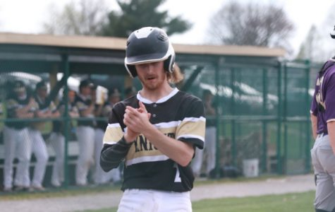 Junior Chase Holder discusses team goals for double header against Fort Zumwalt South