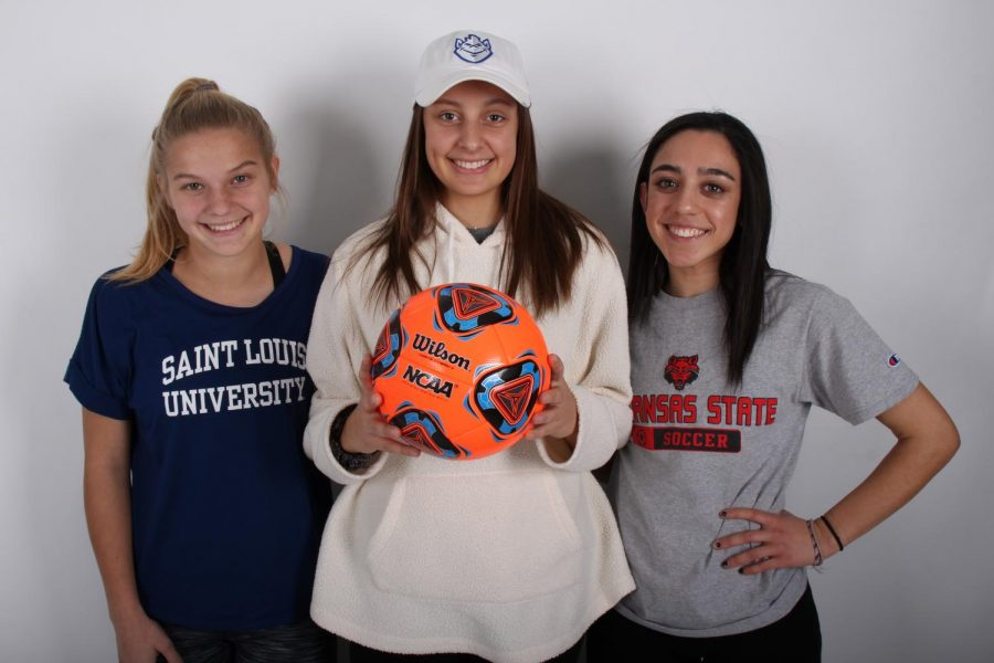 FHN Girls' Soccer Team has Three Future Division I Athletes on the Team