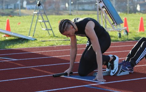 Boys' Track and Field Focuses on Individual Goals