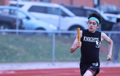 Sophomore David Lopez Talks About His Time as a Varsity Track Runner