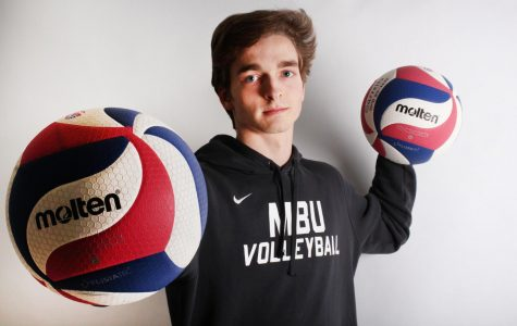 Senior Thomas Beye Started a Journey with Volleyball his Freshman Year and Continues to Improve