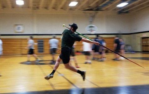 Hunter Tabor Starts Javelin As A Senior