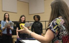 Choir Prepares for Broadway Revue