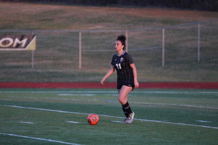 Freshmen Jessica Gillen and Makenna Davis become Starters on the Varsity Girls Soccer Team