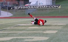 """Senior Corey Valleroy has Brought up the culture of """"Big Save"""""""