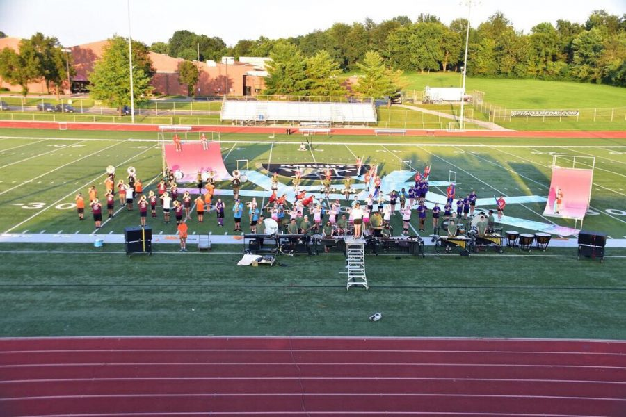 FHN+Marching+Band+Prepares+For+Year+Ahead