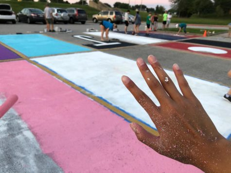 FBLA Introduces Painted Parking Spots