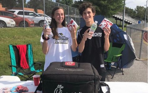 Sophomores Faith Todd and Kyle Button Start Running FCA This Year