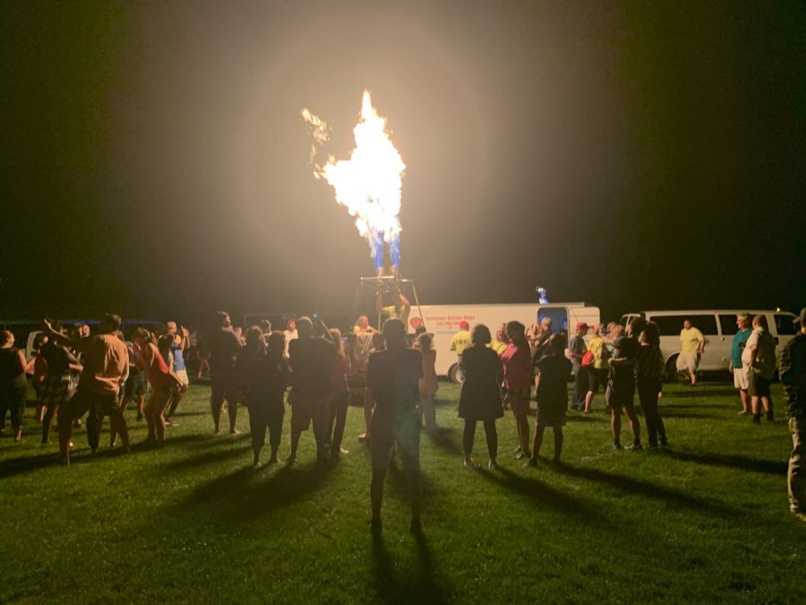 Inclimate Weather Affects Forest Park Balloon Show