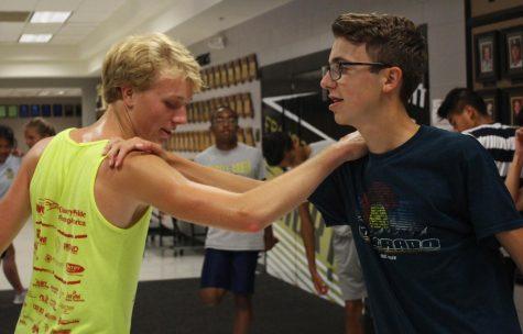 Varsity Jumpers Marissa Hunt and Tyler Tolliver Talk Jumping and Team's Season