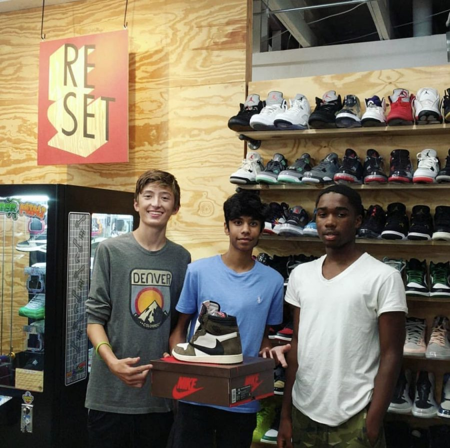 Juniors Josh Teemul and Cole Sherman Sell Shoes as Side Job