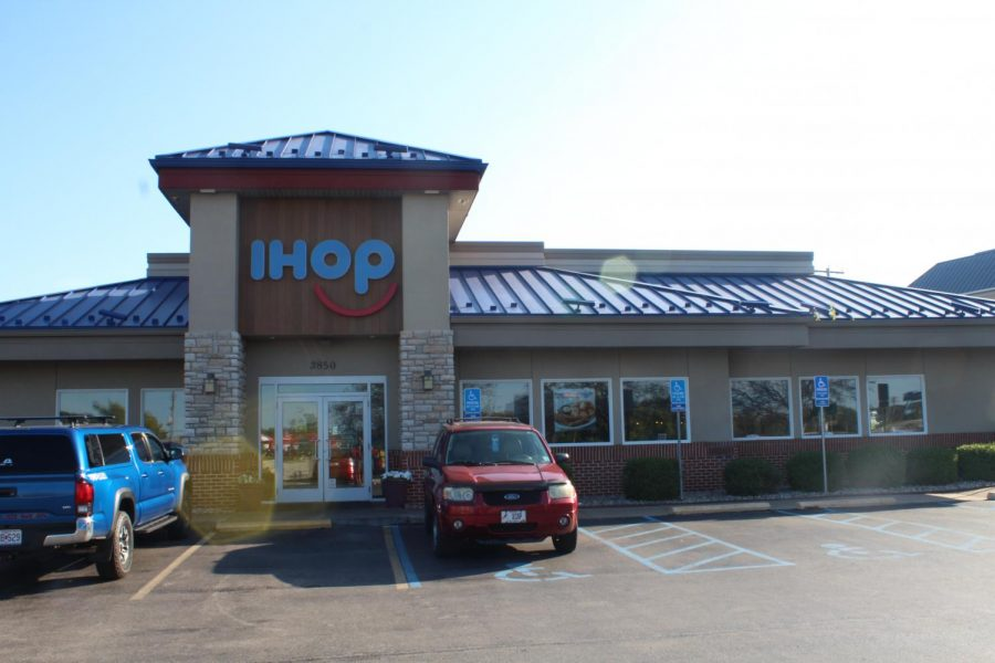 One of the many places you can go to eat before or after homecoming is IHOP.