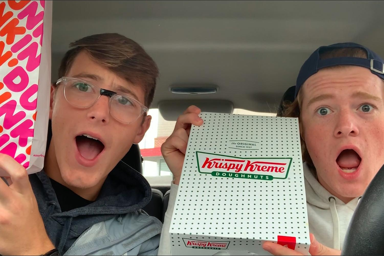 Food Frenzy: Dunkin' Donuts Vs. Krispy Kreme Review
