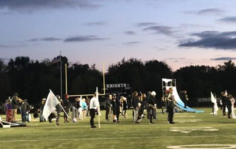 Band Prepares for upcoming Bands of America Competition