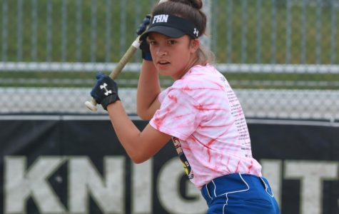Freshman Lucy Fajatin Joins Varsity Softball Team