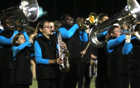 Marching Band Trains for Competition Season