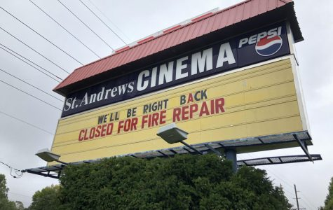 St. Andrews Cinema catches fire