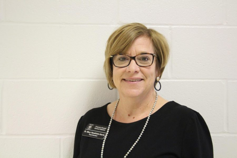 Mary Hendricks-Harris has been the superintendent of FHSD since 2016. She is retiring after years of being in the district and she hopes to make the most of her time left. (Photo by Phoebe Primeau)