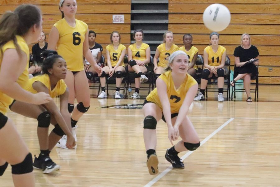 9-24 C-Team Volleyball vs Troy Buchanan [Photo Gallery]