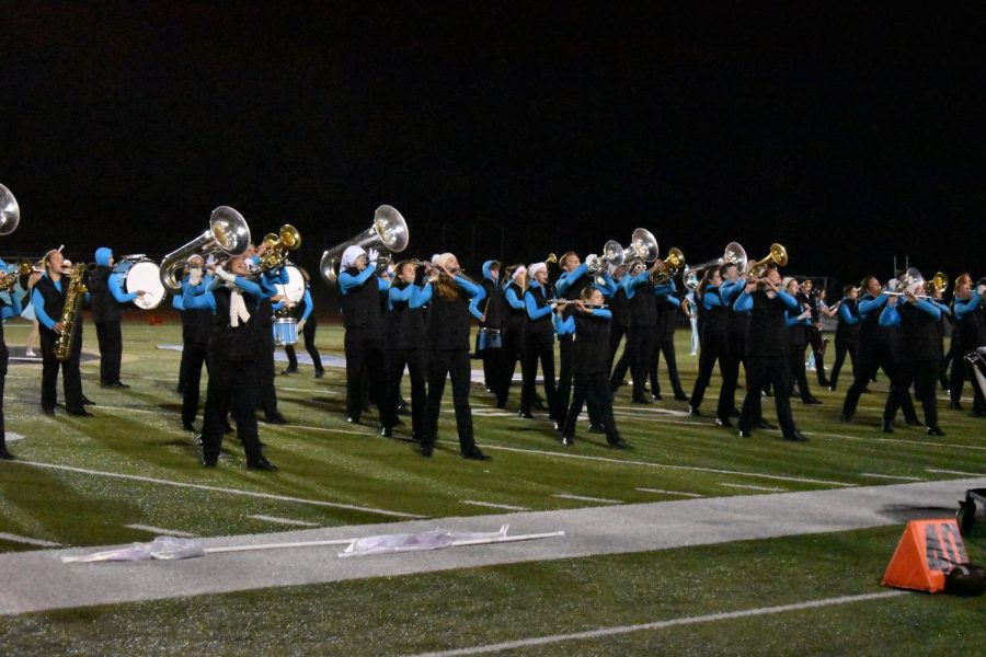 Knightpride Marching Band Completes Their Season