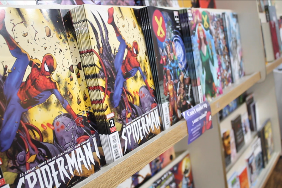 The Fantasy Shop Specializes in Comic Books