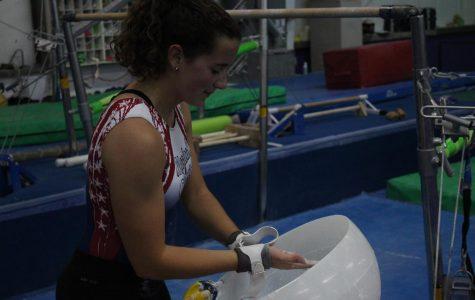 Senior Courtney Helmick Balances Gymnastics Along with Many Other Activities
