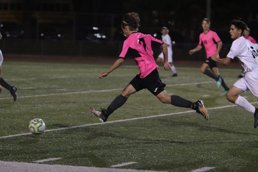 Varsity+Boys+Soccer+Wore+Pink+Jerseys+During+the+Month+of+October+for+Breast+Cancer+Awareness