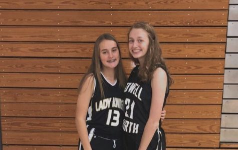Brianna Wortman Uses SKills from Varsity Girls Volleyball for Basketball