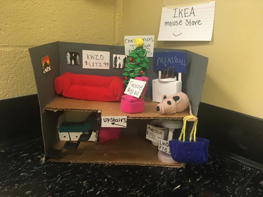 Intro to Art Classes Create Mouse Houses