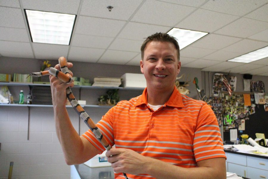 Joe Brocksmith Uses Snakes in his Classroom to Enrich Education