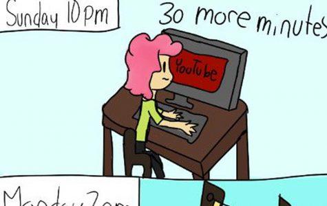 Oversleeping [Comic]
