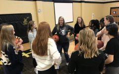 Danielle Rampley Starts Coaching Girls Basketball