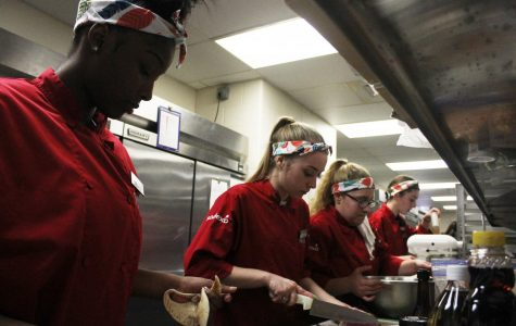 Iron Chef Team Earns Second Place in the Annual District Wide Culinary Throwdown