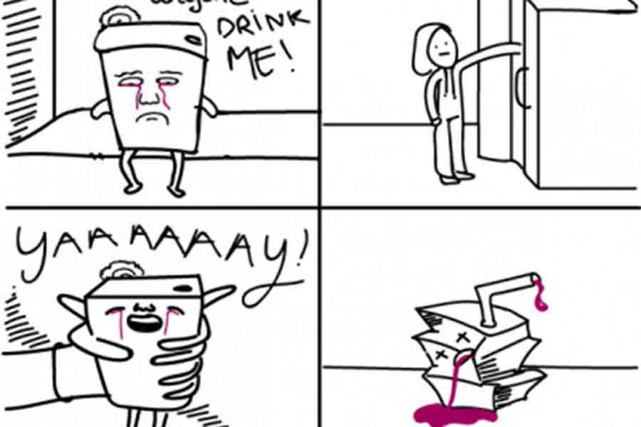 Life of A Juice Box [Comic]