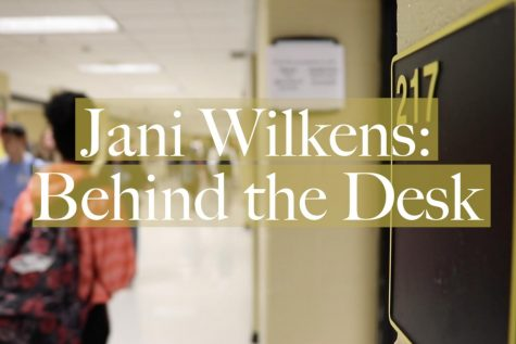 Jani Wilkens Behind the Desk