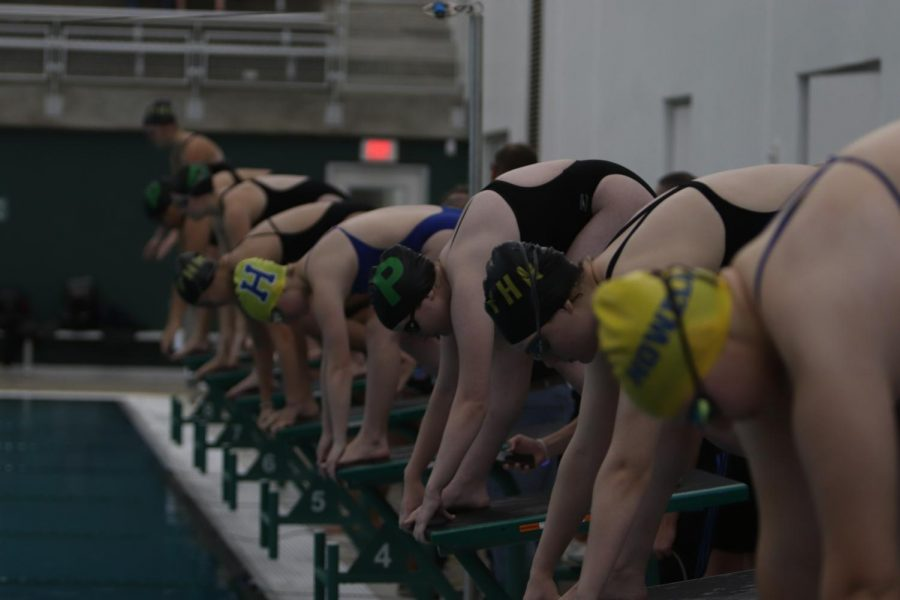Girls Swim Places 2nd at Pattonville Swim Meet [Photo Gallery]