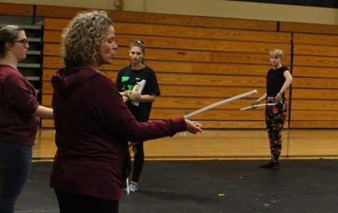 FHN Winter Guard Gears Up for New Season with New Changes [Photo Story]