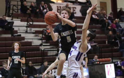 Varsity Boys Basketball Loses in Close Game Against Fort Zumwalt West [Photo Gallery]