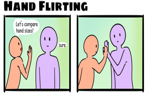 Hand Flirting [Comic]